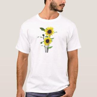 Sunflowers Tall and Short Mens T-Shirt