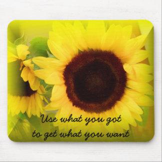 Sunflowers_ Alfombrilla De Raton