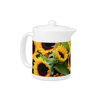 Sunflowers Teapot