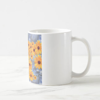 SUNFLOWERS TEMPLATE COFFEE MUG