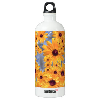 SUNFLOWERS TEMPLATE WATER BOTTLE