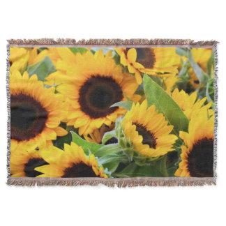 Sunflowers Throw