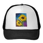 Sunflowers Trucker Hats