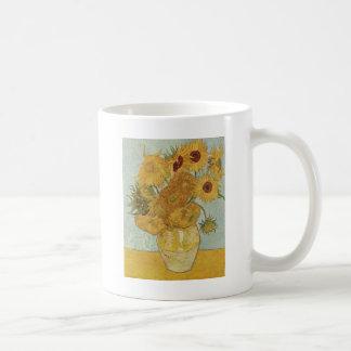Sunflowers - Vincent Van Gogh Coffee Mugs