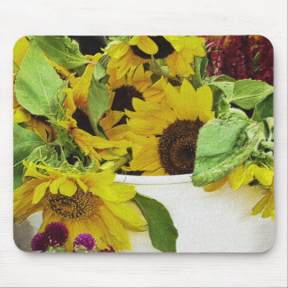 Sunflowers Waiting Mouse Pad