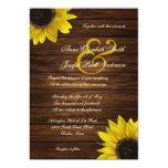 Sunflowers Wedding Invitation