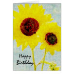 Sunflowers Whimsy Card
