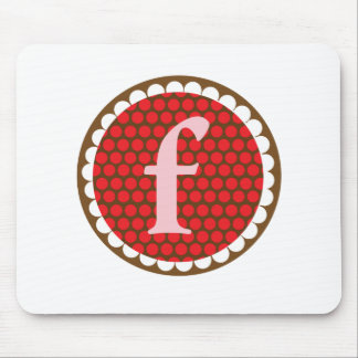 Sunflowery Flair Red- F Mouse Pad