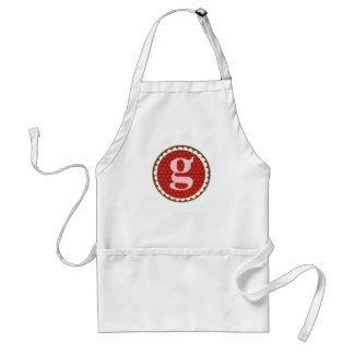 Sunflowery Flair Red- G Aprons