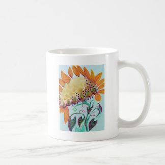 SunFluer Classic White Coffee Mug
