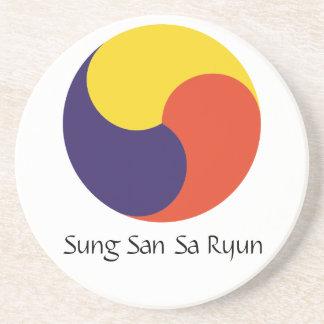 Sung San Sa Ryun Drink Coaster