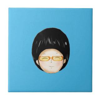 Sunglass del muchacho azulejo cuadrado pequeño