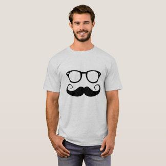Sunglasses And Mustache T-Shirt