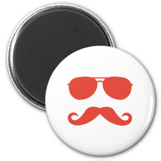 sunglasses and 'stache magnet