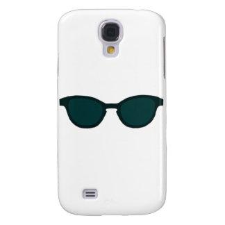 Sunglasses Black Rim Dk Green Lens The MUSEUM Zazz Samsung Galaxy S4 Cover