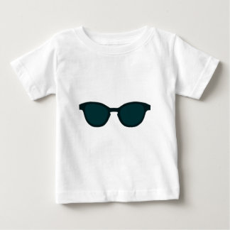 Sunglasses Blue Rim Blue Lens The MUSEUM Zazzle Gi Baby T-Shirt
