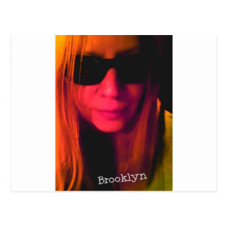 Sunglasses Brooklyn Products Postcard