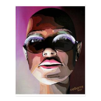 Sunglasses by Cebarre Postcard
