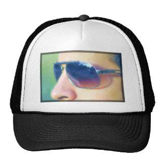 Sunglasses cap trucker hat
