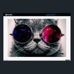 """sunglasses cat decals for laptops<br><div class=""""desc"""">funny cats , funny animals, cute kittens , cute cats , cat animals play puppies , space youth nebula young , mammals kitty fun adorable , pedigree meow grey sunglasses , glasses cute pet kittens , pet space</div>"""