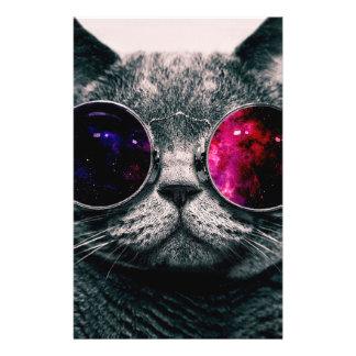 sunglasses cat flyer