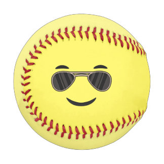 Sunglasses Emoji Baseball