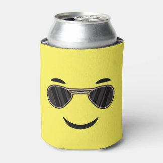 Sunglasses Emoji Can Cooler