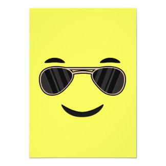 Sunglasses Emoji Card