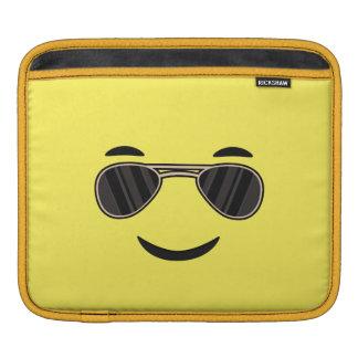 Sunglasses Emoji iPad Sleeve