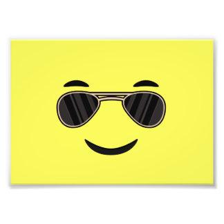 Sunglasses Emoji Photo Print