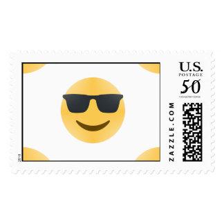 sunglasses emoji postage