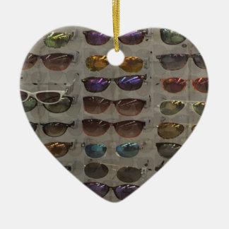 Sunglasses Goggles Fashion accessory template diy Ceramic Ornament