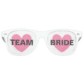 Sunglasses - Heart Fab Team Bride