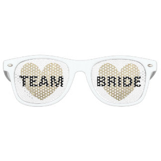 Sunglasses - Heart Fab Team Bride