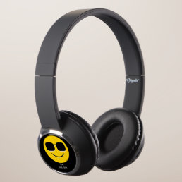 Sunglasses Mr. Cool Emoji Headphones