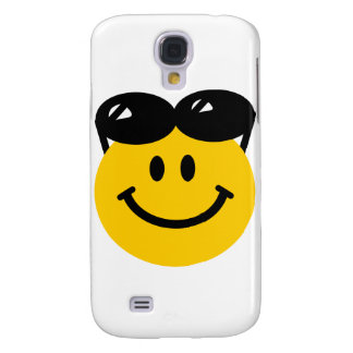 Sunglasses perched on top of head smiley face samsung galaxy s4 cover