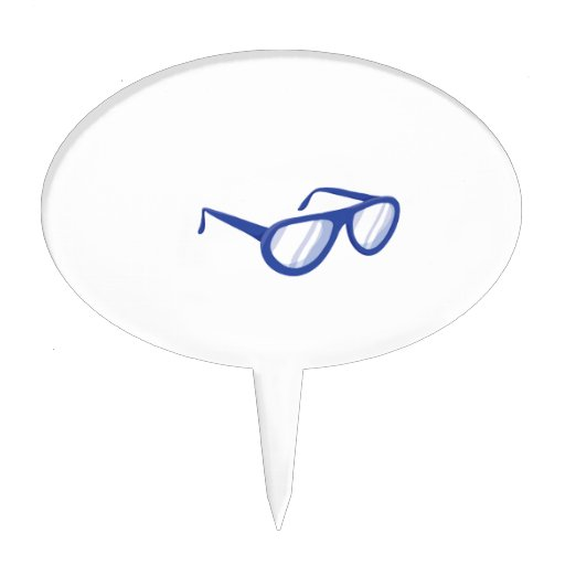 sunglasses.png azul figura para tarta