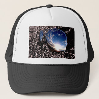 Sunglasses Relection Trucker Hat
