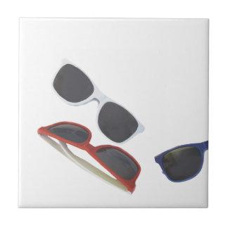 sunglasses tile