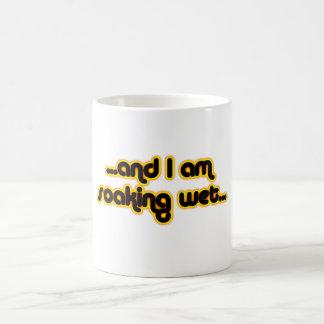 Sunglow mojado de impregnación taza básica blanca