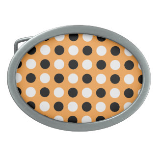 Sunglow Polka Dots Belt Buckle
