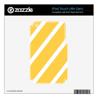 Sunglow Stripes iPod Touch 4G Decals