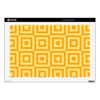 Sunglow Tiles Laptop Decals