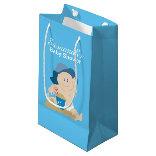 Sunhat Beach Baby Shower Gift Bag
