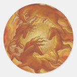 Sunhorses Classic Round Sticker