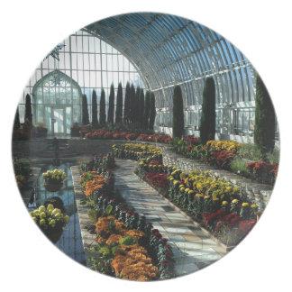 Sunken Garden Room, Como Conservatory, Minnesota Dinner Plate