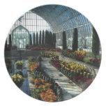 Sunken Garden Room, Como Conservatory, Minnesota Party Plates