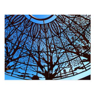 Sunken Gardens Dome postcard 1