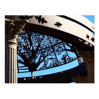 Sunken Gardens Dome postcard 5