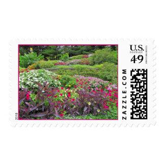 Sunken Gardens postagestamp 1 Postage Stamps